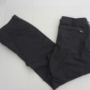 The North Face Convertible Gray Pants SZ 12